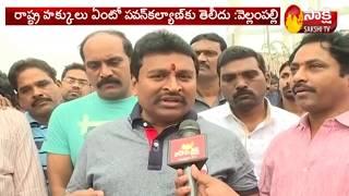 Minister Vellampalli Srinivas Power Packed Counter to Pawan Kalyan | Sakshi TV