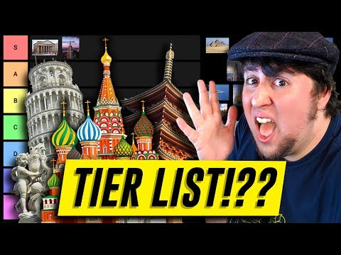 Architecture Tier List – JonTron