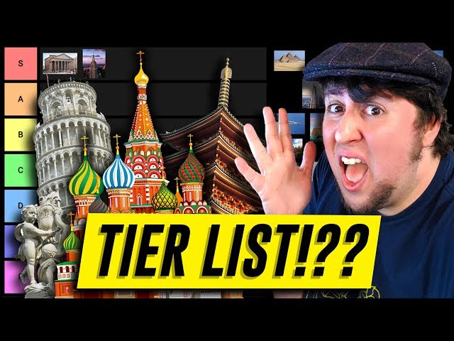 Architecture Tier List - JonTron
