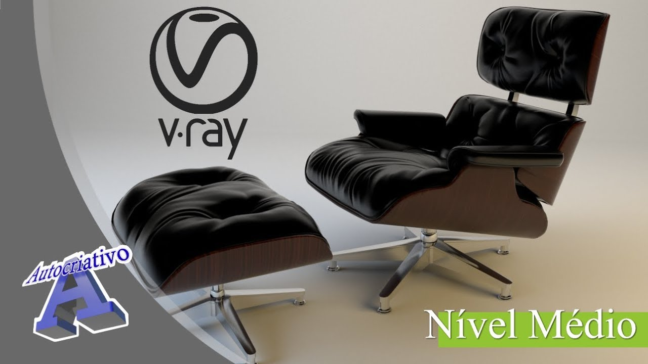 Curso de V-Ray 3.4 - Nível Médio - Aula 01/20 - Apresentação e Mesh Light - Autocriativo