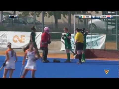 Ireland Vs Netherlands- Eurohockey youth U-16 Valencia