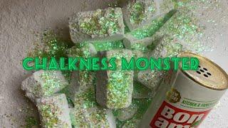 8 Block Chalkness Monster Crush | ASMR