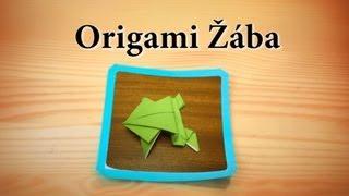 Jak složit origami jednoduchou žábu (česky a jednoduše)