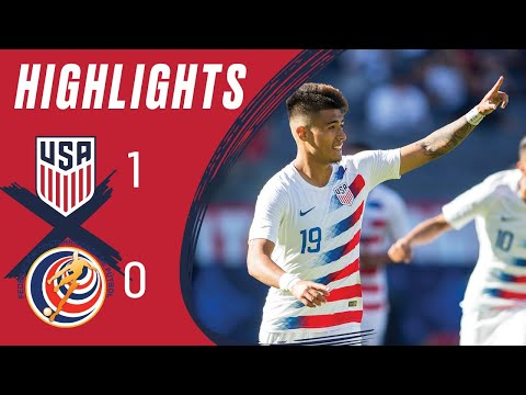 USA 1-0 COSTA RICA Highlights | Feb. 1, 2020 | Carson, CA - Dignity Health Sports Park