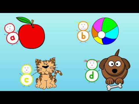 Alphabet Song with The Alphabubblies - YouTube