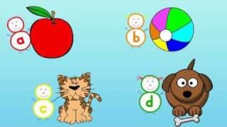 Alphabet Song with The Alphabubblies