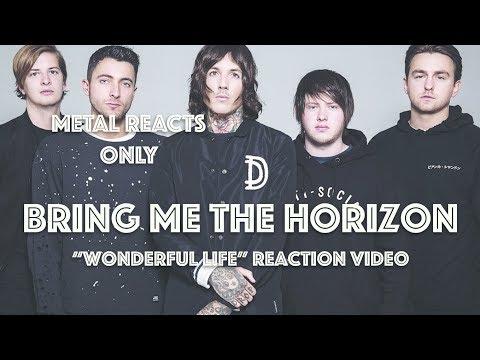 "BRING ME THE HORIZON ""Wonderful Life"" Reaction Video | Metal Reacts Only | MetalSucks"