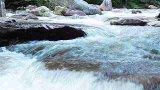 **Free** HD Stock Footage Rivers Streams Creek **Royalty Free**Rocky Broad River Chimney Rock NC