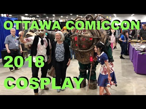 Ottawa Comiccon 2018 - Very Late Mini Cosplay Compilation