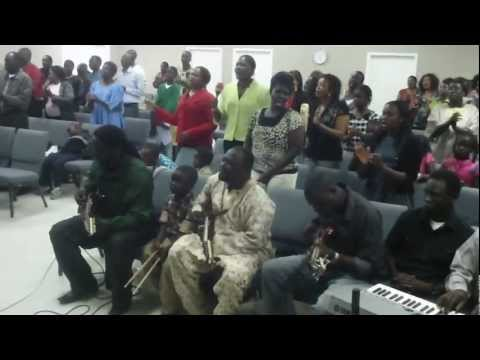 south Sudanese church/ Omaha Nebraska USA