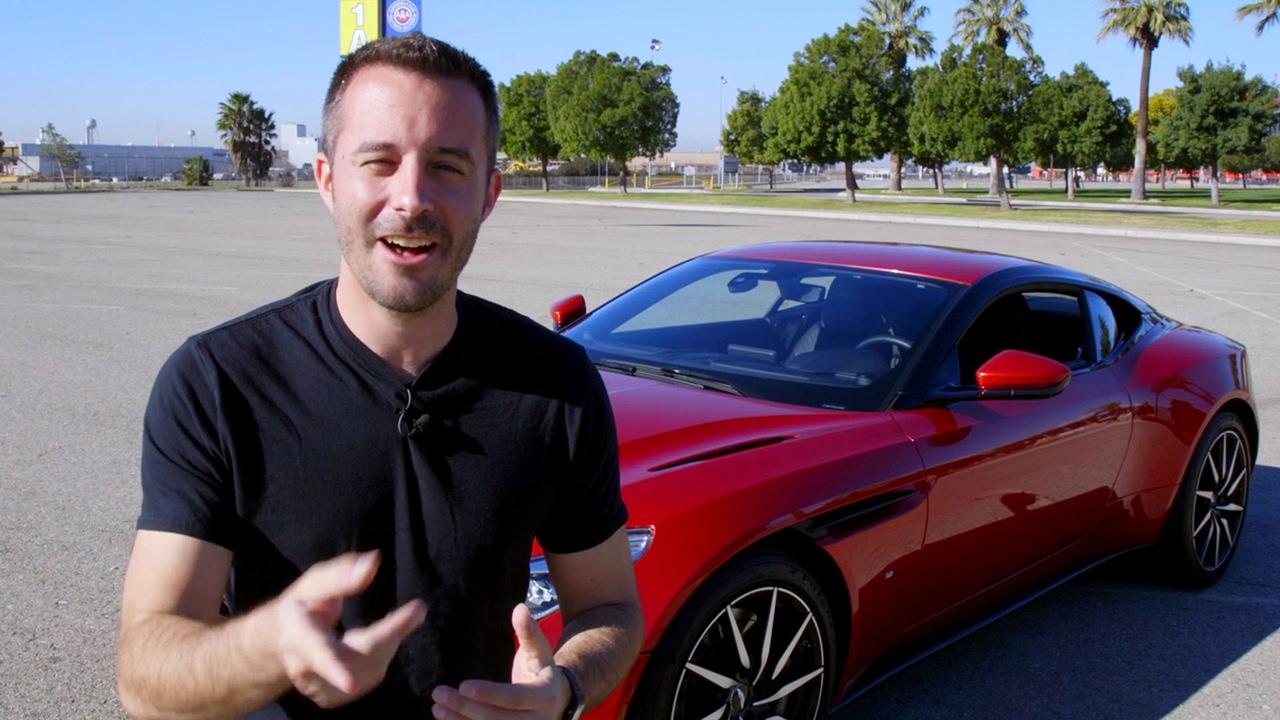 Acceleration Testing The 2017 Aston Martin DB11 (w/ Chris Walton) – Daily Fix