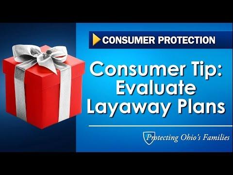 Consumer Tip: Evaluate Layaway Plans