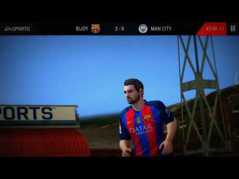Barca VS Man City : Intense Match review