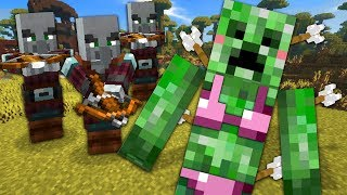 I Made Friends Playing Minecraft For The First Time - Minecraft