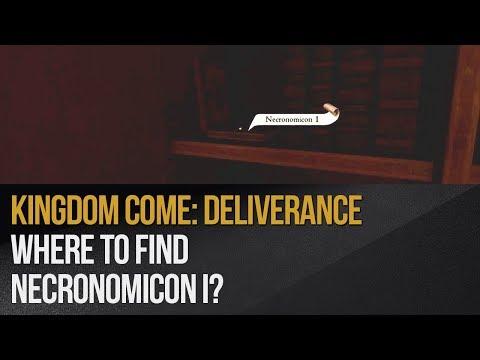 Kingdom Come: Deliverance - Where to find Necronomicon I?