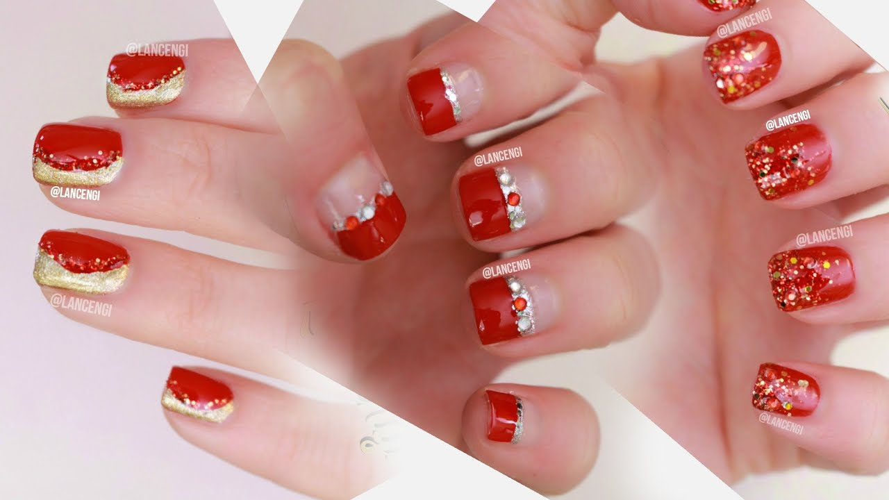 Easy nail art for beginners 29 red designs perfect for prom or easy nail art for beginners 29 red designs perfect for prom or weddings youtube prinsesfo Gallery