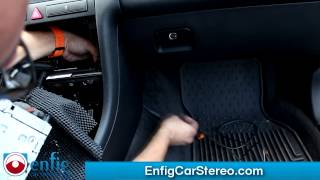 iPod Aux adapter Audi A6 Allroad 00-01 HOW-TO-INSTALLATION