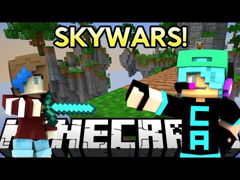 Minecraft Let S Play Skywars Minigame Gamer Chad