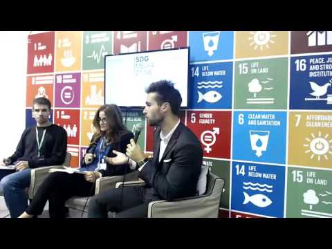 Ecopreneurs for the Climate, from Paris to Marrakech at SDG Media Zone at COP22