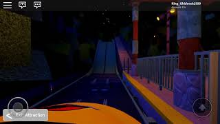 Jurassic park the ride Roblox universal studios