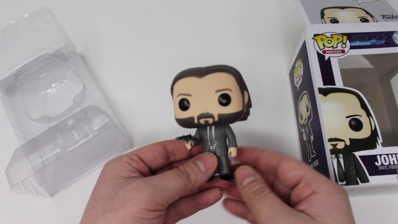 f65277efdac Funko Pop! Movies  John Wick Chapter 2 Vinyl Figure Unboxing - YouTube