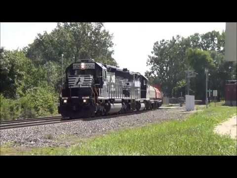 Norfolk Southern Train Bonanza in Ft Wayne Indiana