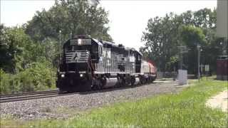 Norfolk Southern Train Bonanza in Ft Wayne Indiana
