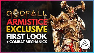 GODFALL | Exclusive First Look at New Valorplate ARMISTICE + Combat Mechanics Explained