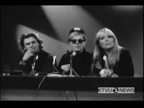 Press Conference With Andy Warhol, Nico And Gerard Malanga (May 1966)
