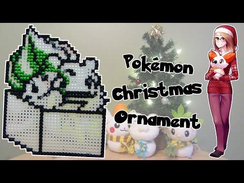Pokémon Christmas Ornament Cross-Stitch: Bulbasaur