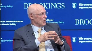 Hank Paulson on communication during a crisis
