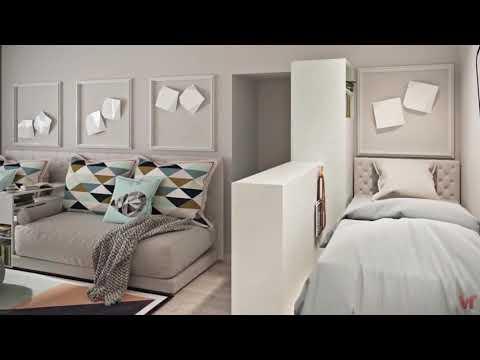 Геометрия трансформации.Однокомнатная квартира 40 м. кв. для семьи из 3 х человек
