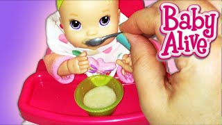 Baby Alive Kicks n Cuddles Newborn Doll Morning Routine Potty Training