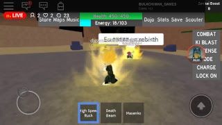upando no dragon boll rage (Roblox)