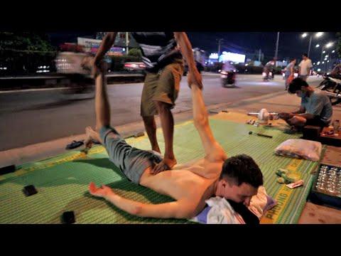 ASMR 2$ Highway Massage in Vietnam, Ho Chi Minh