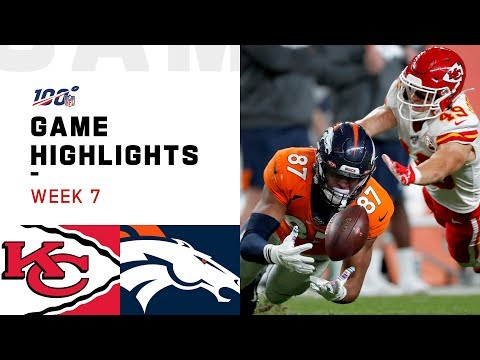 Chiefs vs. Broncos Week 7 Highlights | NFL 2019 video screenshot