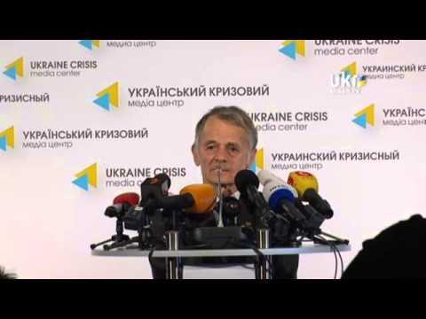 Mustafa Jemilev. Ukrainian Сrisis Media Center. May 5, 2014