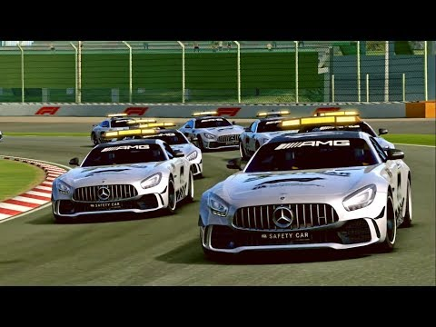 Real Racing 3 Mercedes-AMG GT R F1 Safety Car @ Suzuka