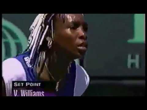 Venus Williams vs Martina Hingis 1998 Miami Highlights