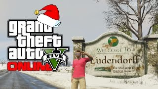 GTA 5 Online: Christmas Day Special! North Yankton Facecam Tour! (GTA V)