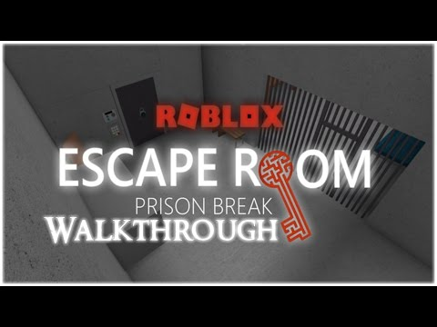 ROBLOX - Escape Room - Prison Break Walkthrough