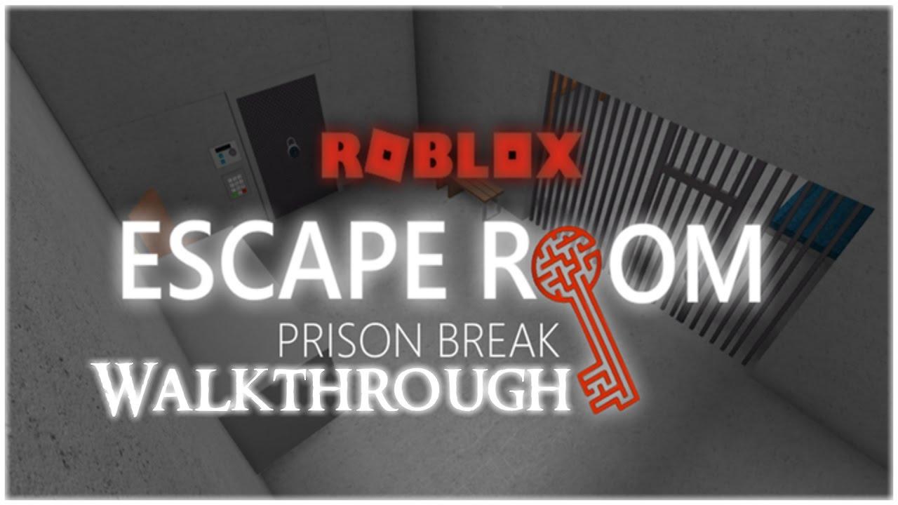 Roblox Prison Song Roblox Escape Room Prison Break Walkthrough Youtube
