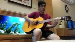 [Guitar Cover] Lặng Thầm Một Tình Yêu - Thanh Bùi ft Hồ Ngọc Hà