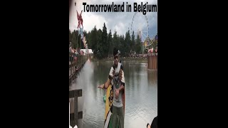 Tomorrowland Visit | Crazy day at Tomorrowland, Belgium 🇧🇪 | Travel Blogs