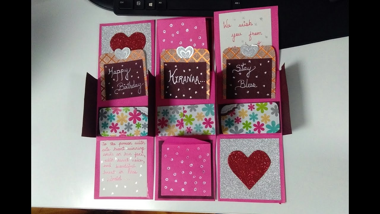 Simple And Creative Handmade Card For Someone Special Best