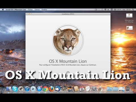 Installer OS X Mountain Lion sur votre Mac