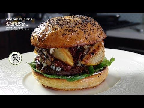 Veggie Burger From Scratch – Bruno Albouze – THE REAL DEAL