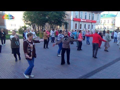 Танцевальный флешмоб на Чумбаровке «Танцуй — укрепляй здоровье!»