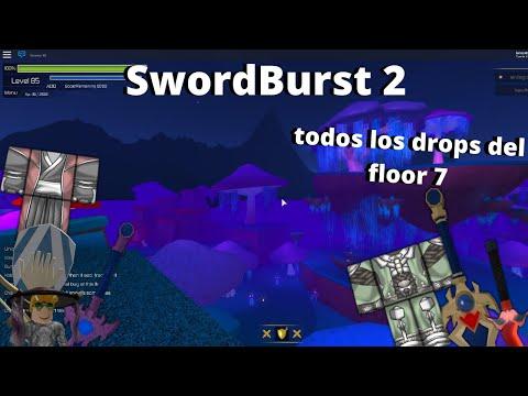 SwordBurst 2 todos los drops del floor 7