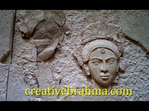 3d ceramic mural art ganesha doovi for 3d ceramic mural art